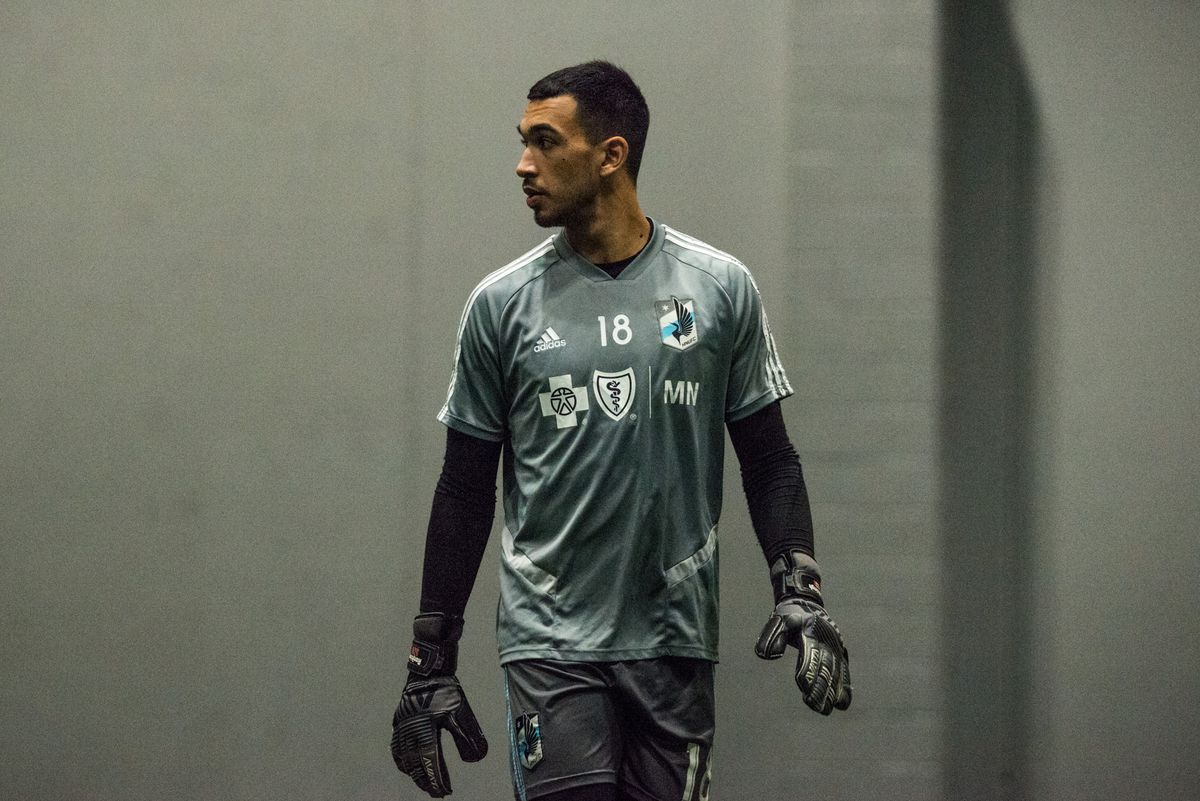 January 21, 2020 - Blaine, Minnesota, United States - Gregory Ranjitsingh during a training session at National Sports Center. (Photo by Tim McLaughlin)