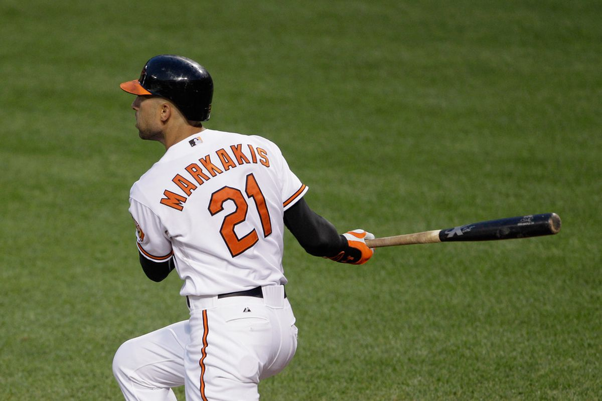 In the last four weeks, Nick Markakis is hitting .322/.358/.478.