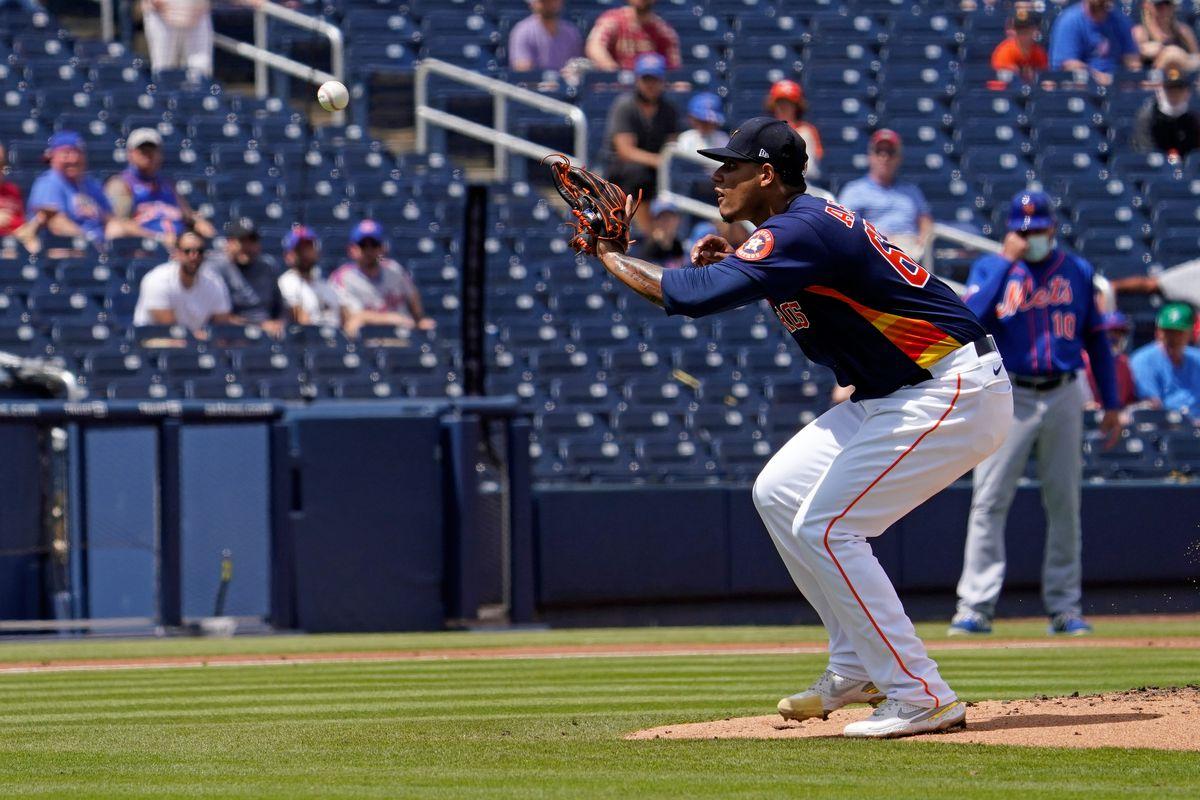MLB: New York Mets at Houston Astros