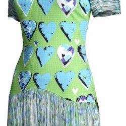Silk dress, $199