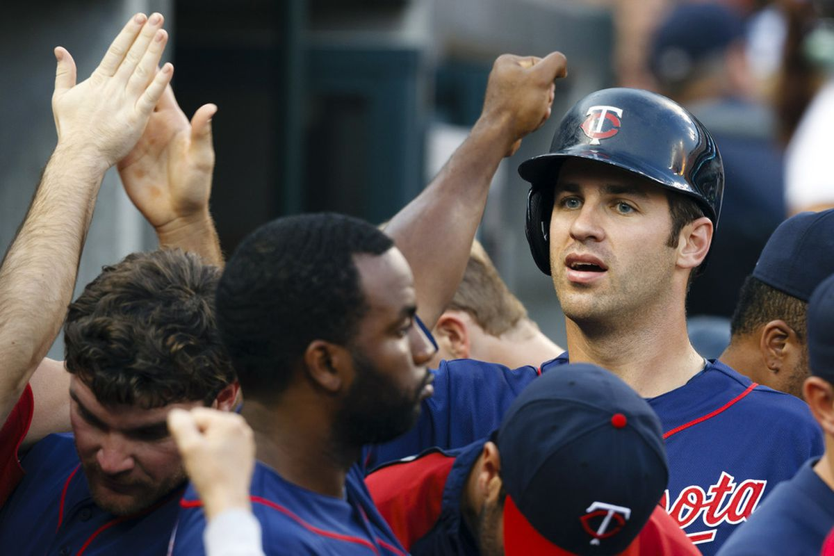Joe Mauer, the only Twin, as of right now to go to the All-Star Game.
