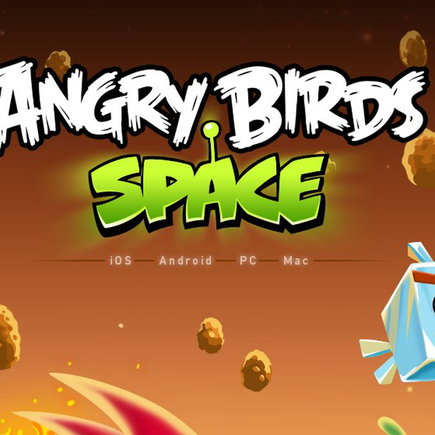 Angry birds space' now available on ios, android, mac, pc, and.