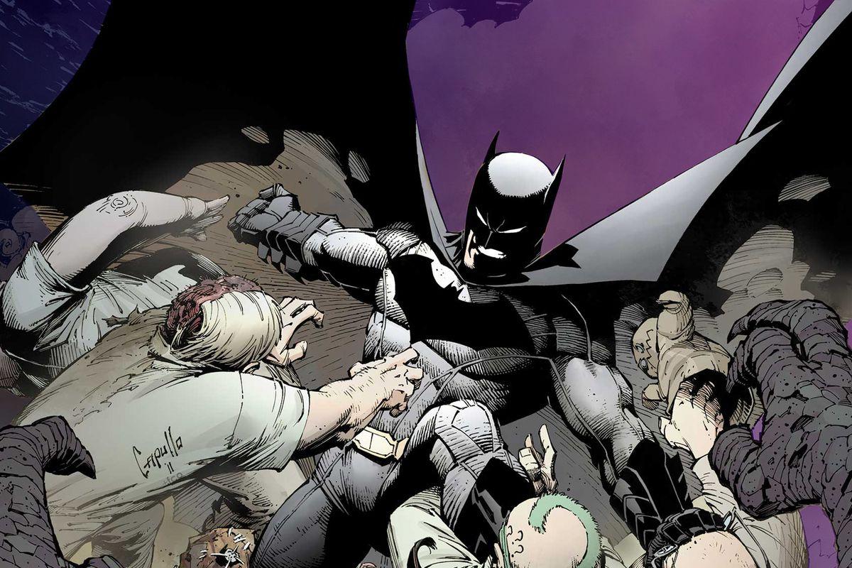Cover of Batman comic