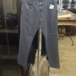 men's cropped jeans, $70