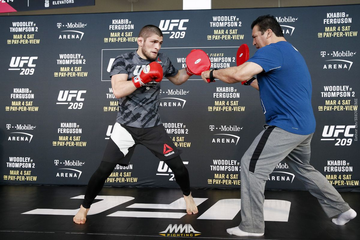 UFC 209 Open Workout Photos