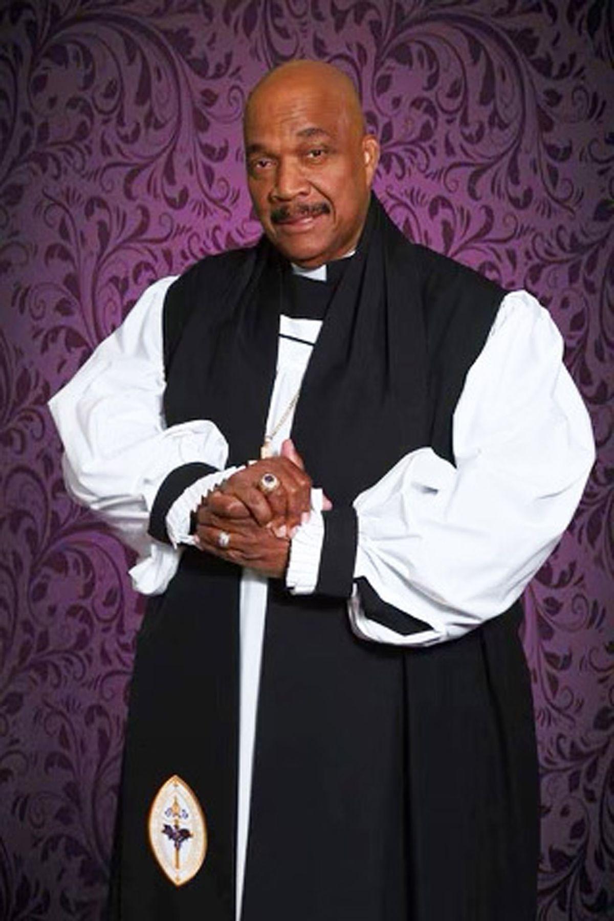 Bishop Willie James Campbell.