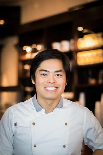 Chef Ron Hsu of Lazy Betty