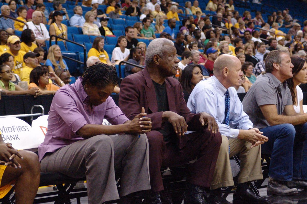 Nolan Richardson coached his last game for the Shock Friday. (Photo courtesy Troy Littledeer)