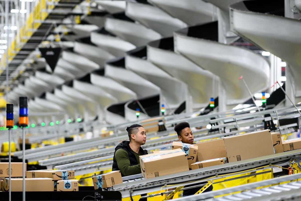 Why Amazon pays warehouse employees to tweet about their