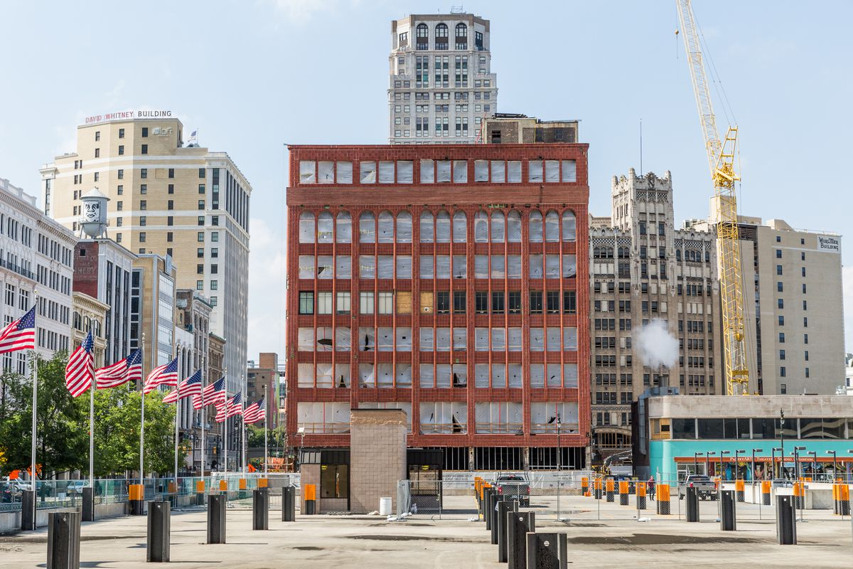 The Shinola Hotel Takes Shape In Downtown Detroit Curbed Detroit