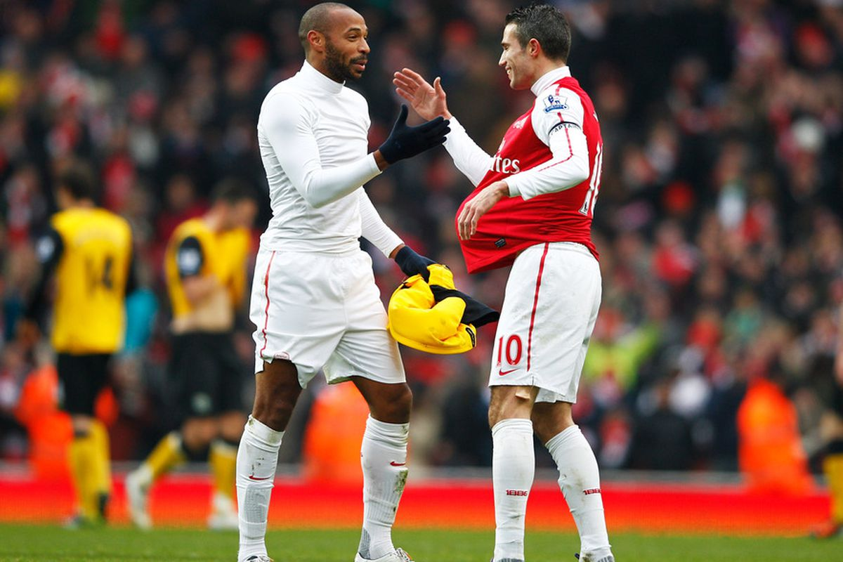 Arsenal past and present but both deadly