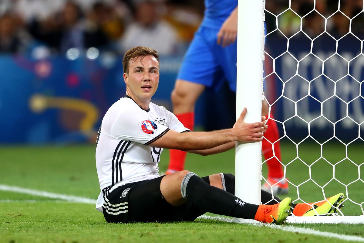 What Mario Gotze's diminishing prominence can be attributed to