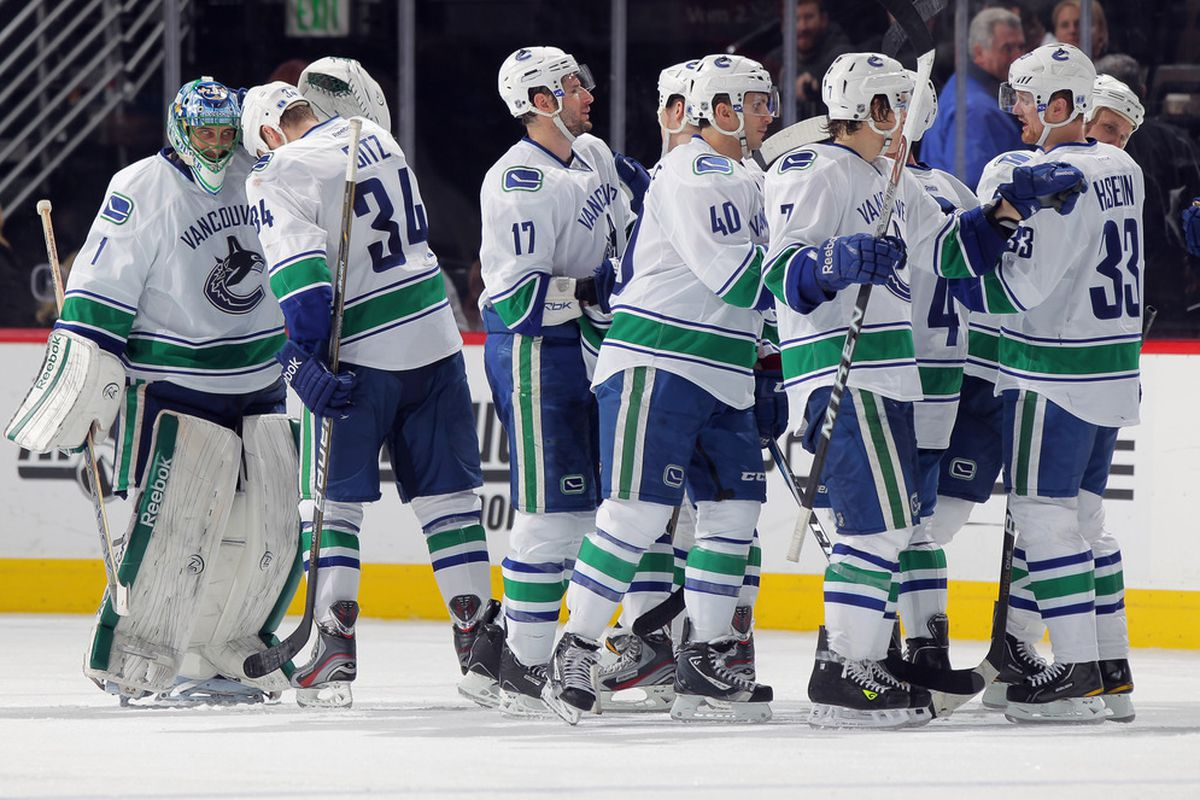 The Canucks in bitter dismay after yet ANOTHER shootout loss.