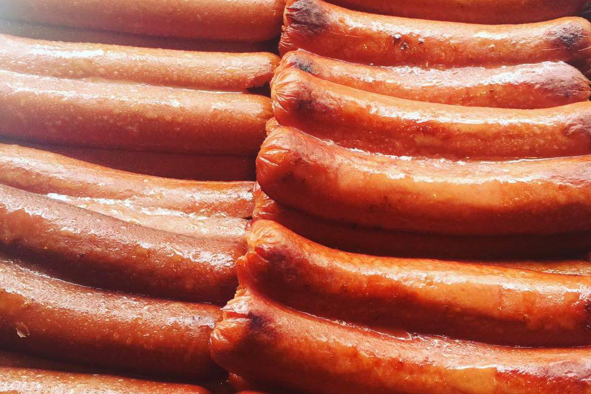 Texas Wieners split-dogs
