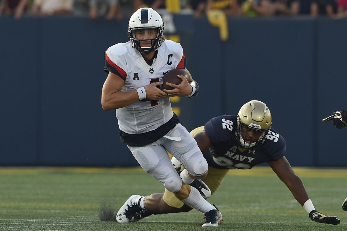 NCAA Football: Connecticut at Navy