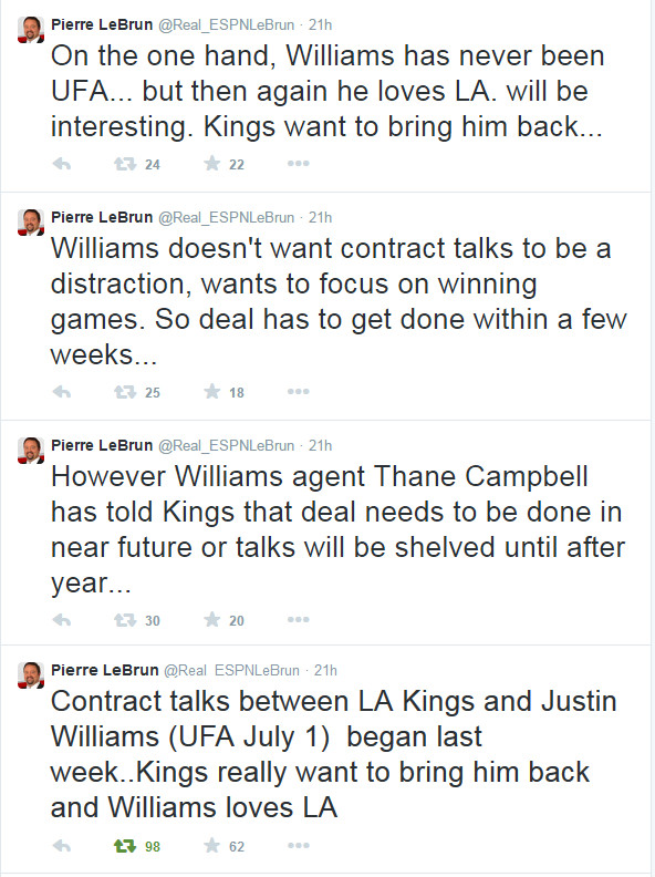 Williams Contract Talks