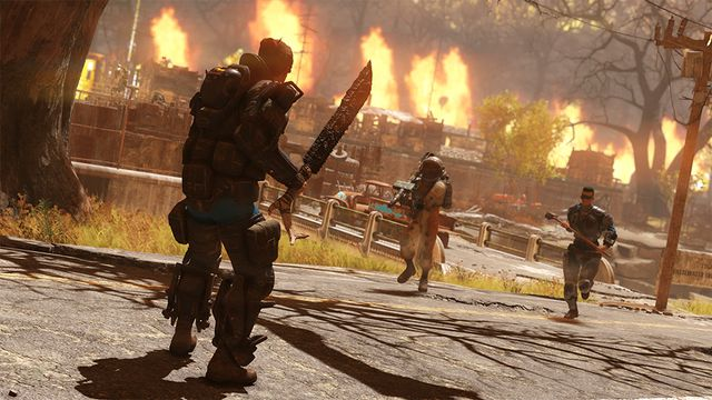 Nuclear Winter, a new mode in a 'pre-beta' in <em>Fallout 76</em>.