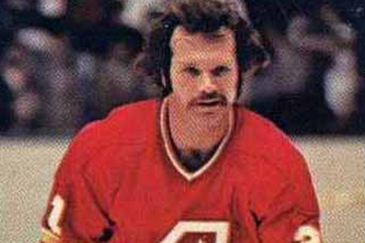 John Gould scored 85 points for the Flames over over parts of three seasons in Atlanta.