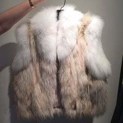 Limited edition coyote vest, $450 (was $1,795)
