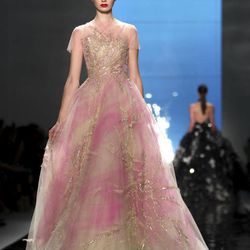 The Reem Acra Spring 2013 collection is modeled during Fashion Week in New York, Monday, Sept. 10, 2012.