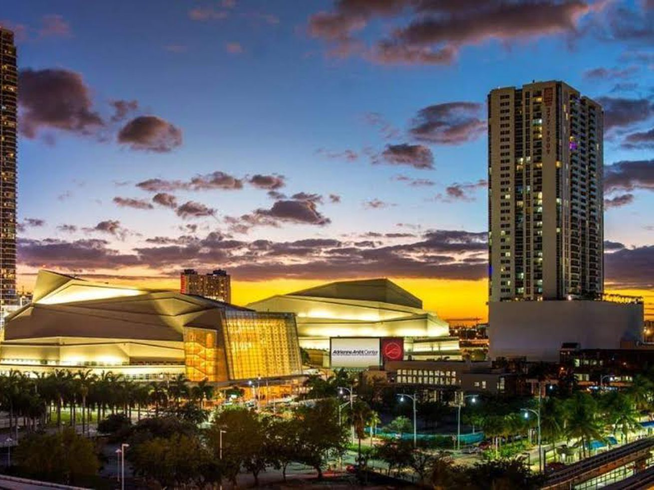 The first Democratic presidential debates will be held June 26 and 27 at the Adrienne Arsht Center for the Performing Arts of Miami-Dade County. CREDIT: Miami Herald/TNS. FILENAME: 19:39 0626mscup-a.jpg.