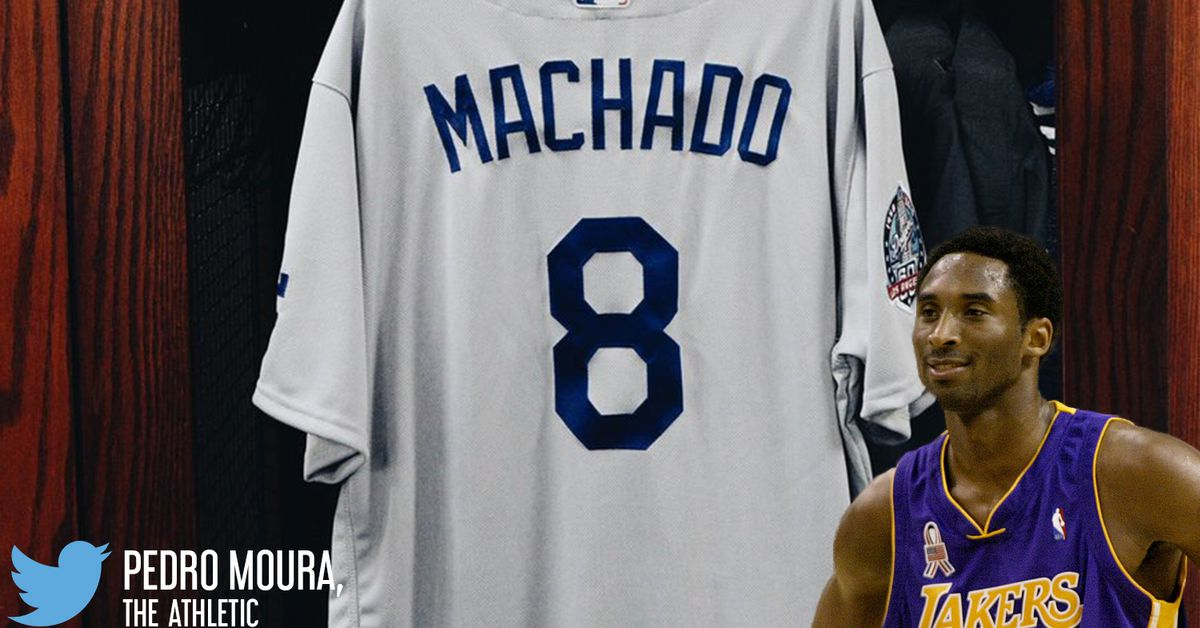 Dodgers 3B Manny Machado chose No. 8 for Lakers legend Kobe Bryant - Silver  Screen and Roll cb0102321a2