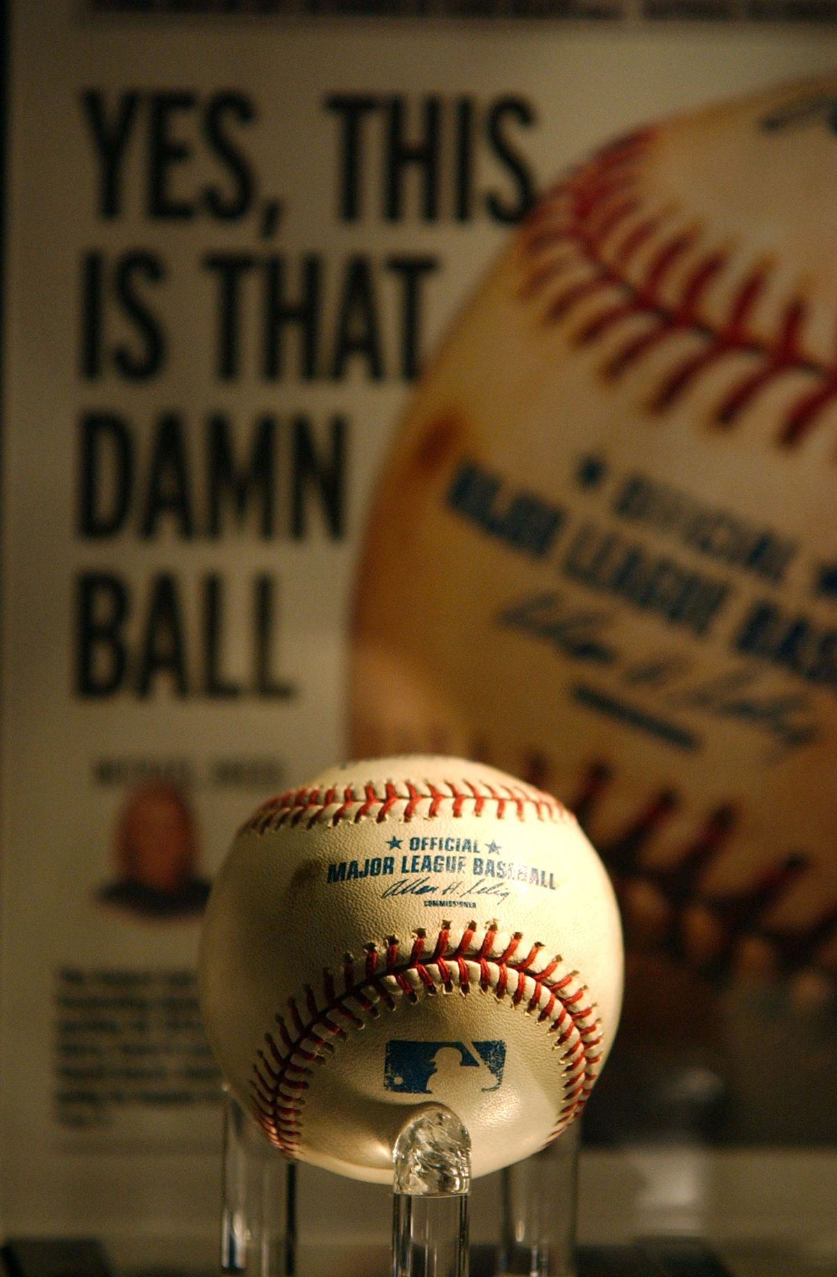 Cursed Chicago Cubs Baseball Destroyed