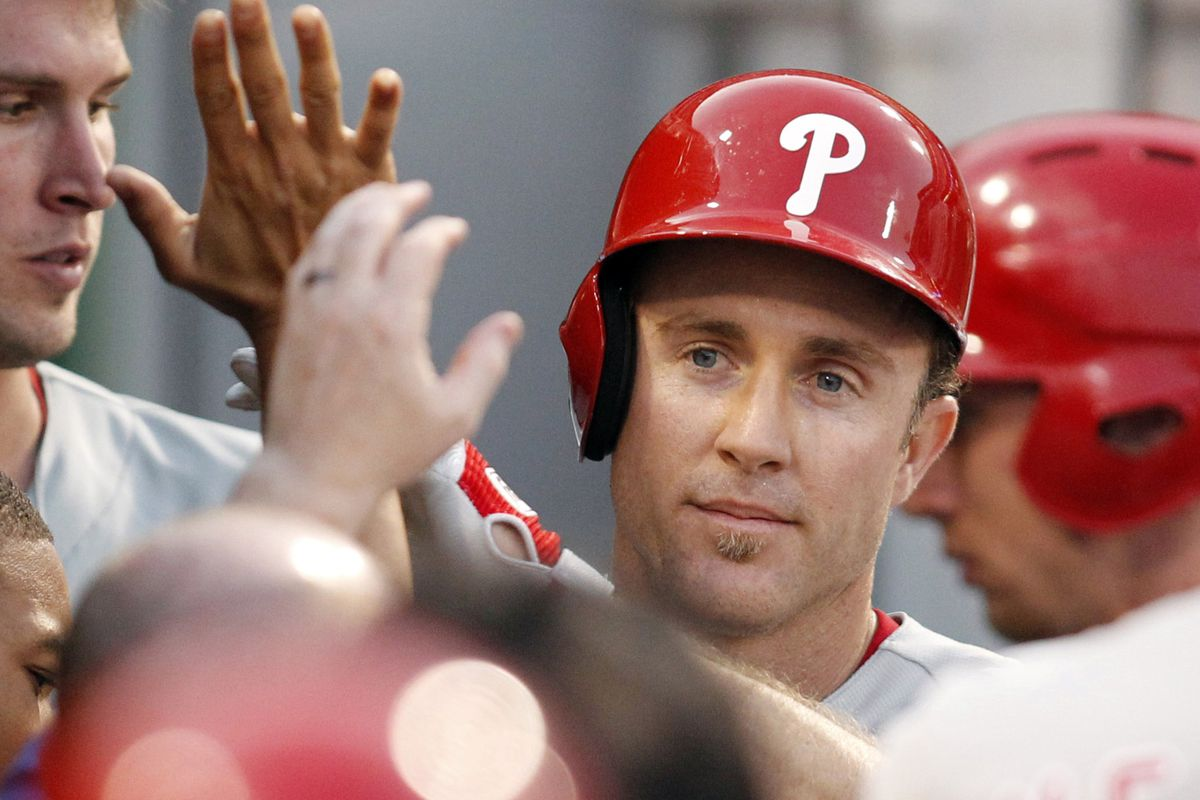 Chase Utley, you are the man.