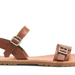 """<b>Madewell</b> Camille in Pecan, <a href=""""https://www.madewell.com/madewell_category/SHOESANDSANDALS/sandals/PRDOVR~A8177/A8177.jsp?color_name=pecan"""">$98</a>"""