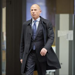Attorney Michael Avenatti walks into the Leighton Criminal Courthouse. He has been charged in a 36-count federal indictment in Southern California. | Ashlee Rezin/Sun-Times