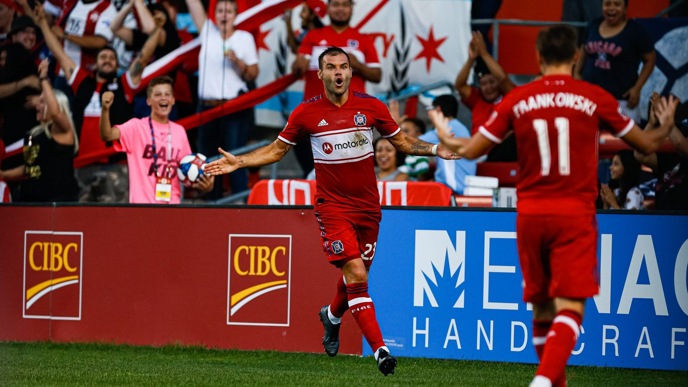 In last home game for a month, Fire beat Philadelphia to stay in playoff race