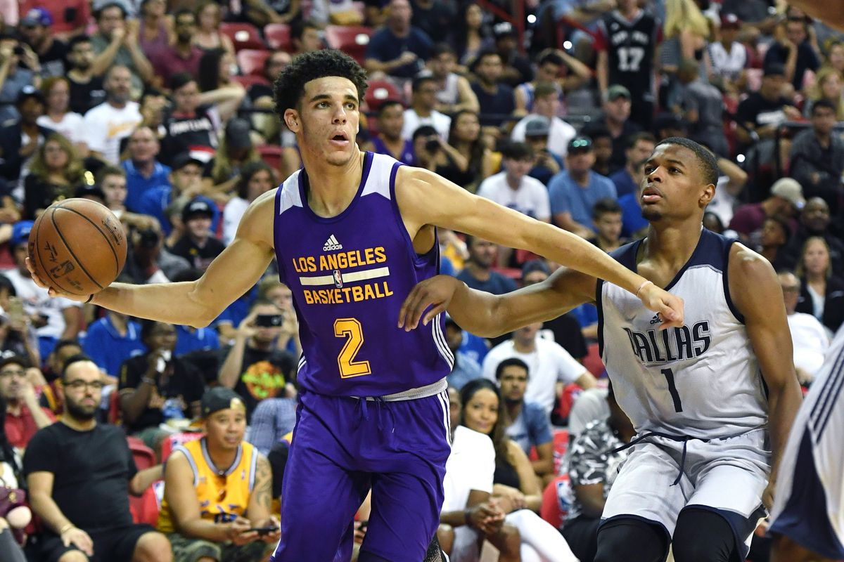 lakers and trail blazers advance to summer league finals - sbnation