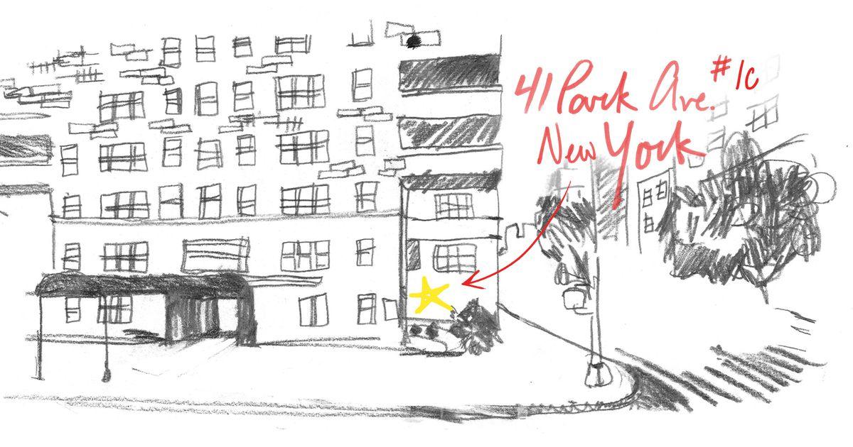 41 park ave, office illustration