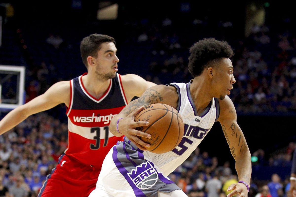 NBA: Preseason-Washington Wizards at Sacramento Kings