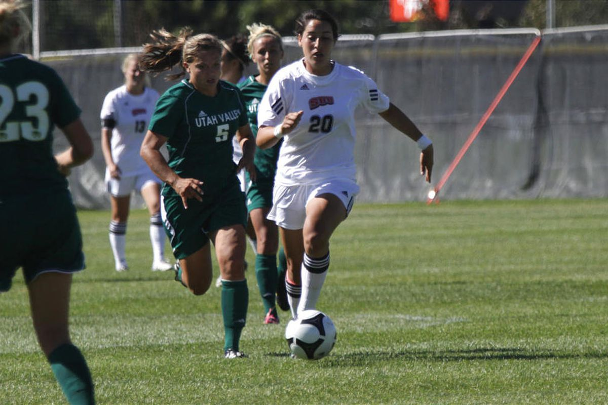 Sophomore Jill Robison scored her second goal of the season in the 56th minute to give the Utah women's soccer team a 1-0 win over the Texas Longhorns.