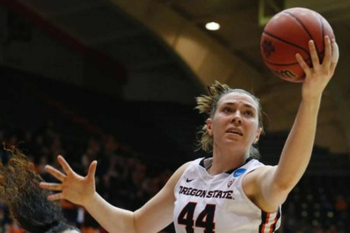 Ruth Hamblin led an Oregon State hammering of Troy.