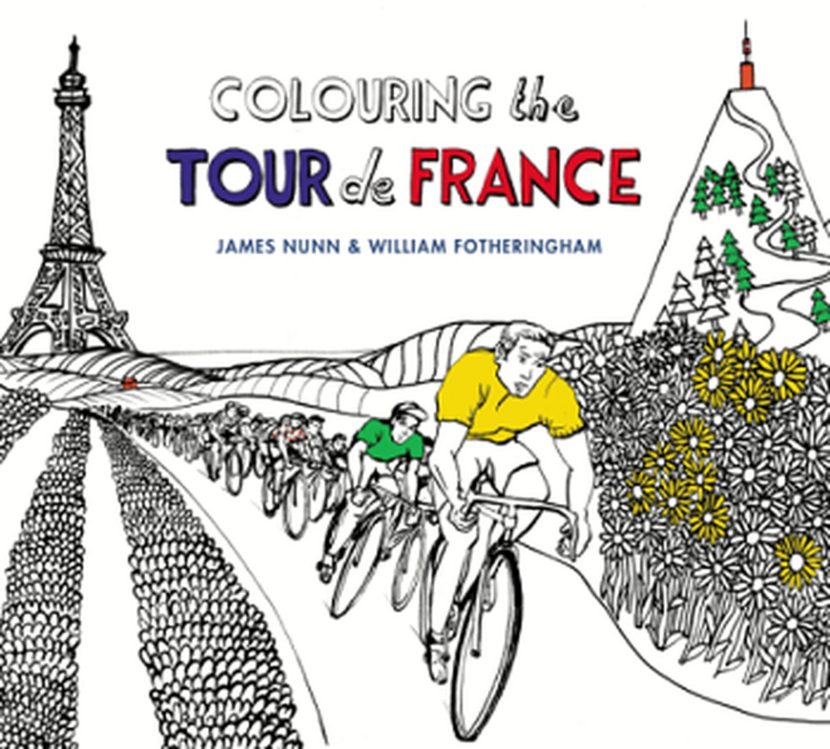 Distracted from distraction by distraction podium cafe Colouring books for adults waterstones