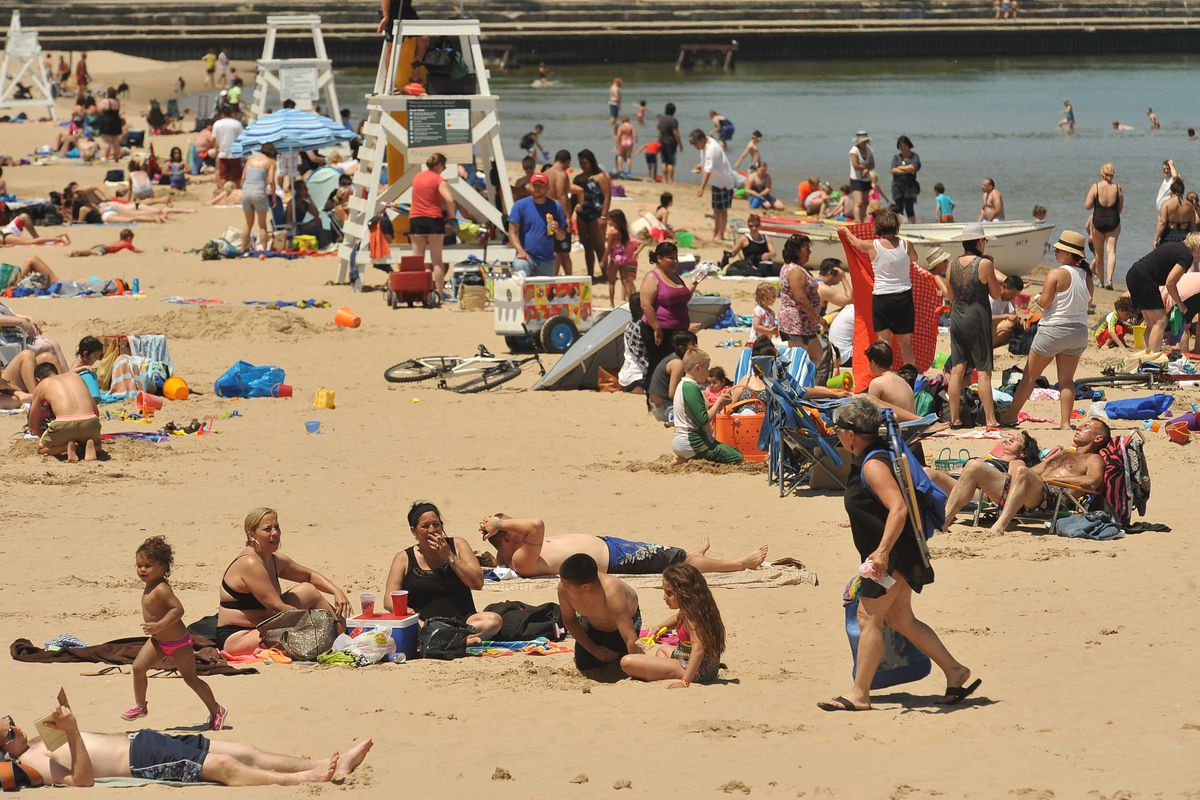 Climate change has brought hotter summer nights in Chicago, but so far summer days haven't seen much change, records show.