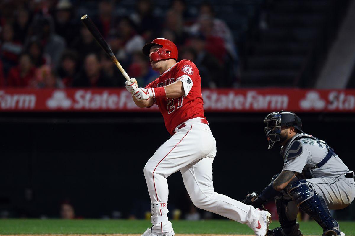MLB: APR 19 Mariners at Angels
