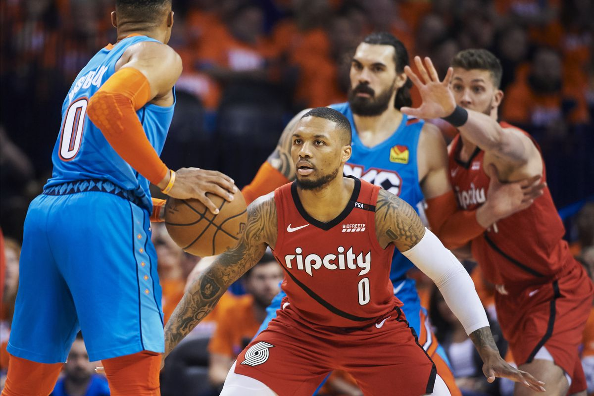 Portland Trail Blazers v Oklahoma City Thunder - Game Three