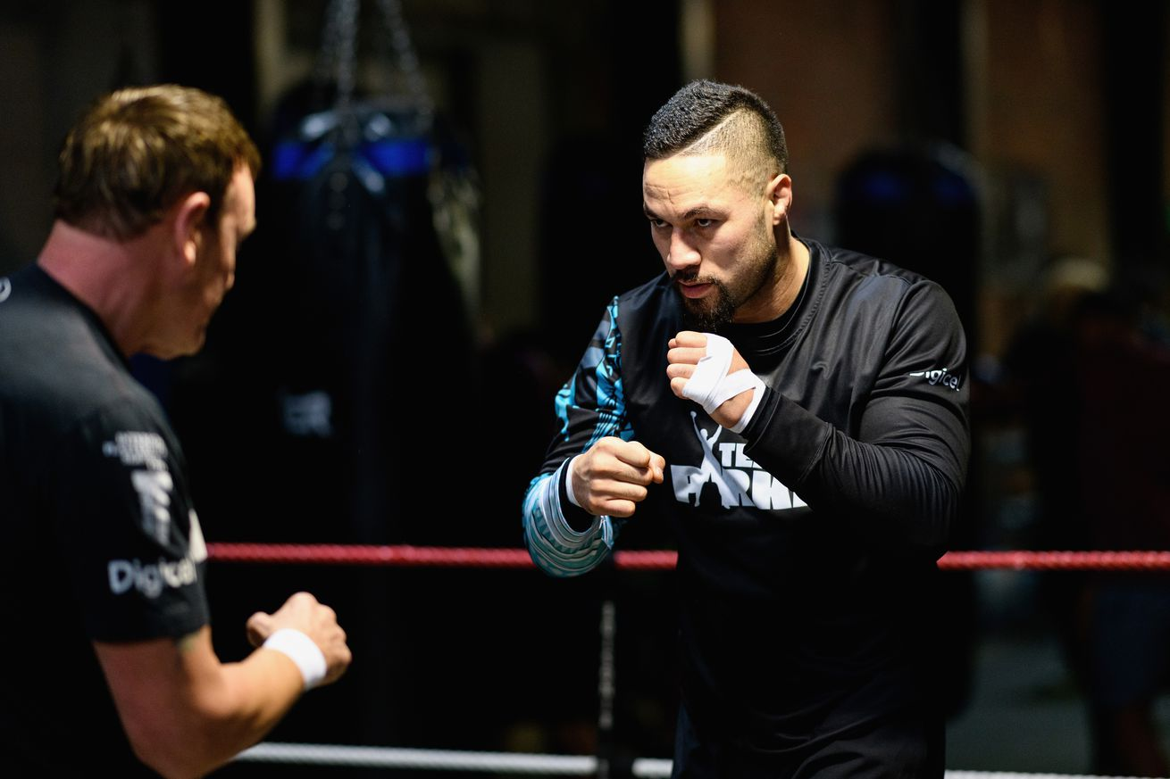 Crusaders Join Joseph Parker In Boxing Session