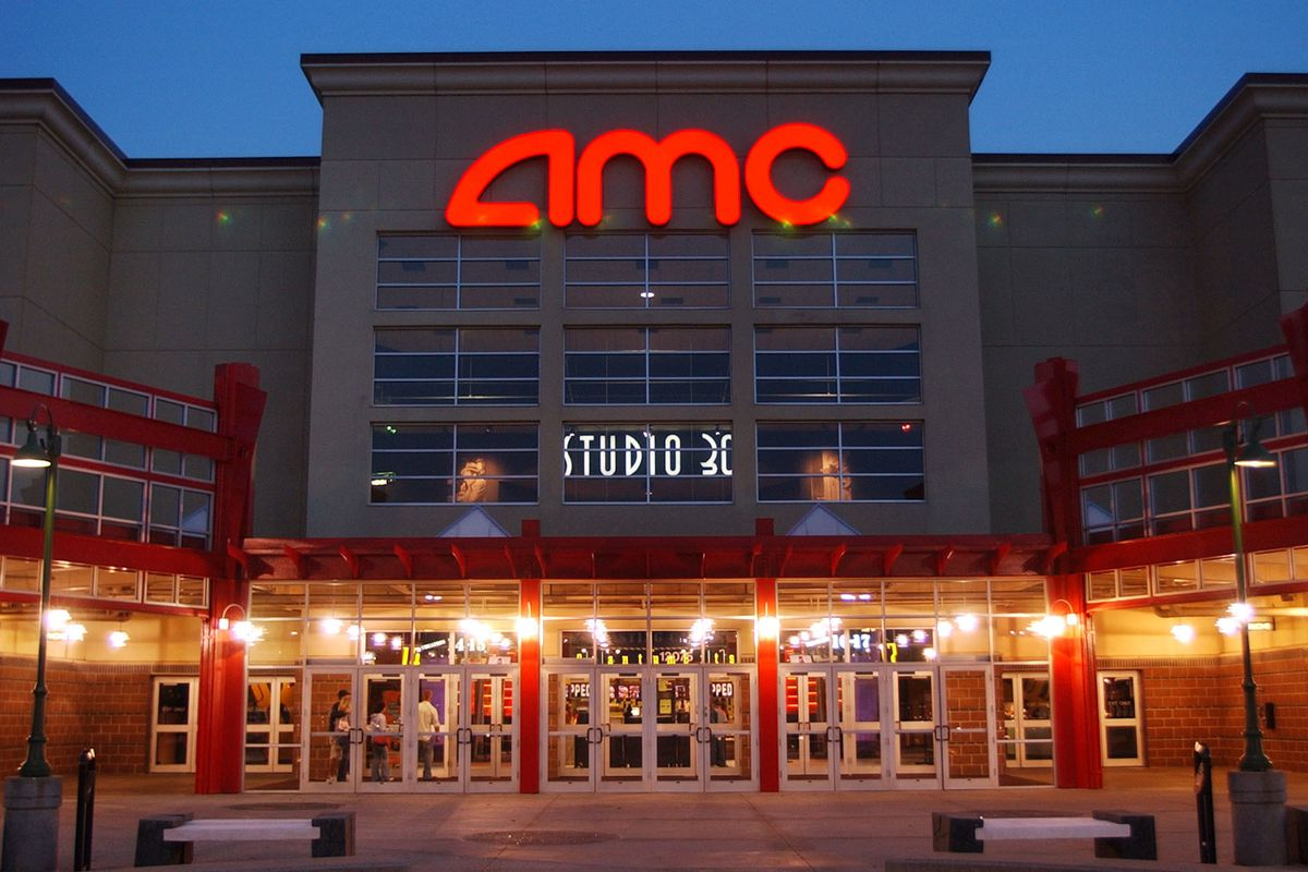 In this May 11, 2005, file photo, people enter AMC's Studio 30 theater in Olathe, Kan. AMC Theatres, the world's largest movie theater chain, has unveiled a $20-a-month subscription service to rival the flagging MoviePass.