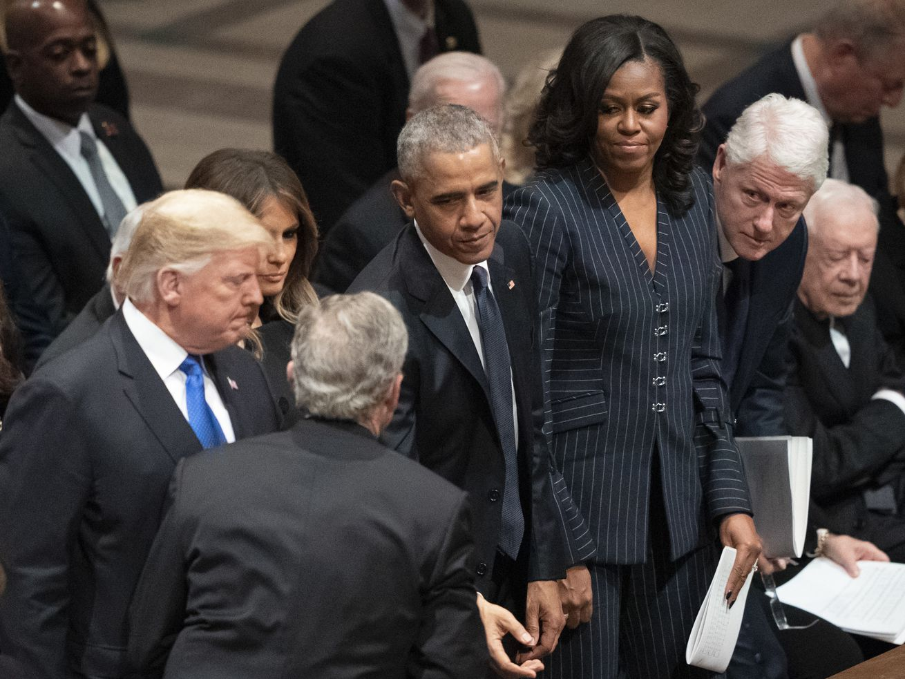 Trump shuns 'ex-presidents club' — and the feeling is mutual
