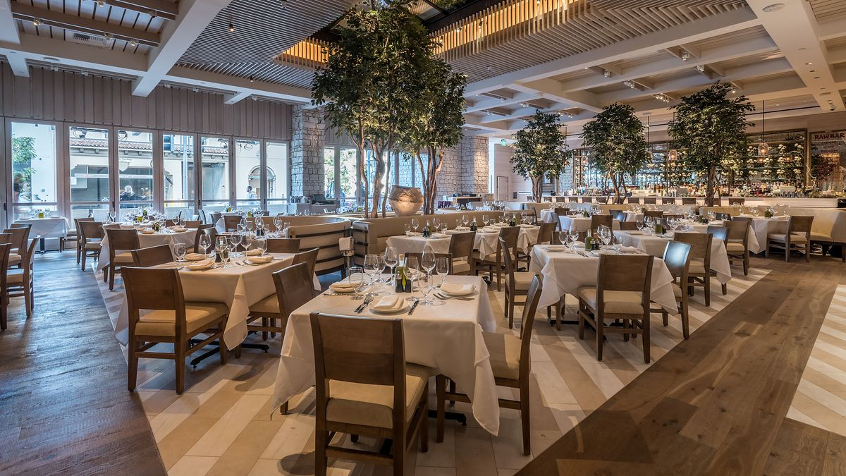 A High End Greek Restaurant From Nyc Gets Prime Slot In Beverly Hills