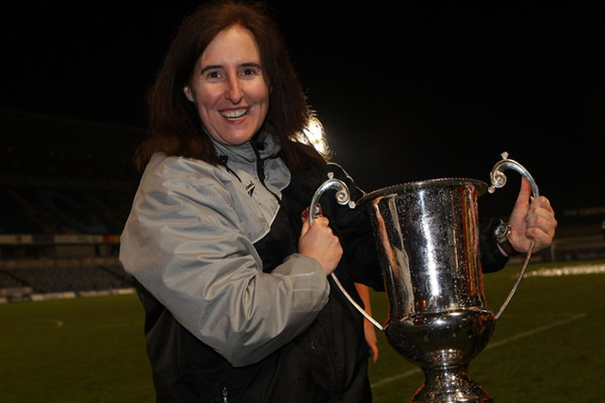 New Strikers Coach Tracey Kevins will look to bring hardware to her new club.