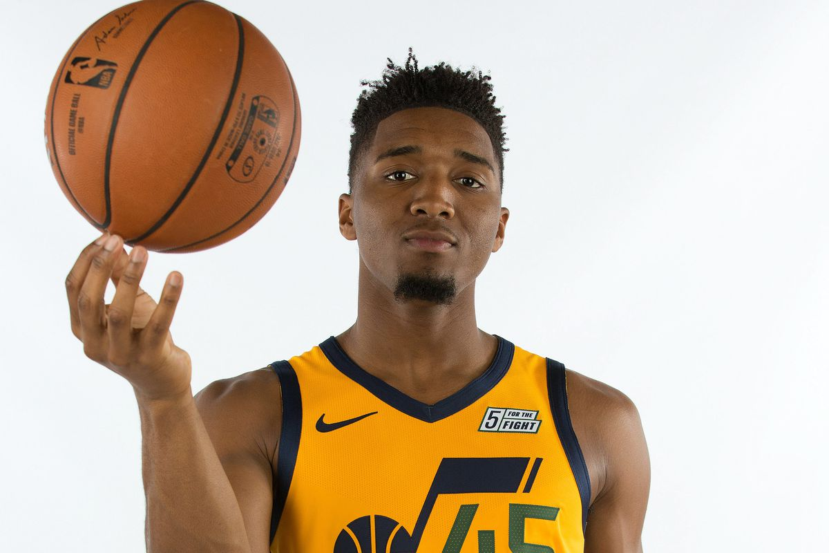 Donovan Mitchell is a star on and off the court - SLC Dunk 9115f40c9