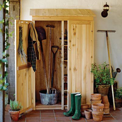 Garden Tools Shed