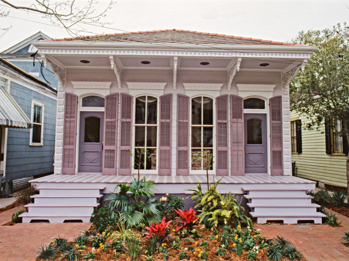 New Orleans house exterior