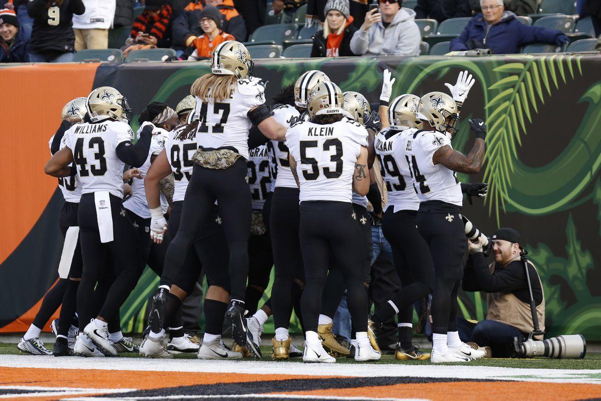 NFL: New Orleans Saints at Cincinnati Bengals