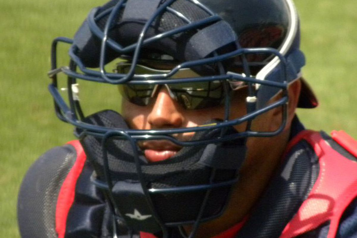 Catcher Orlando Mercado had a 1.314 OPS this week while playing in his native Puerto Rico.